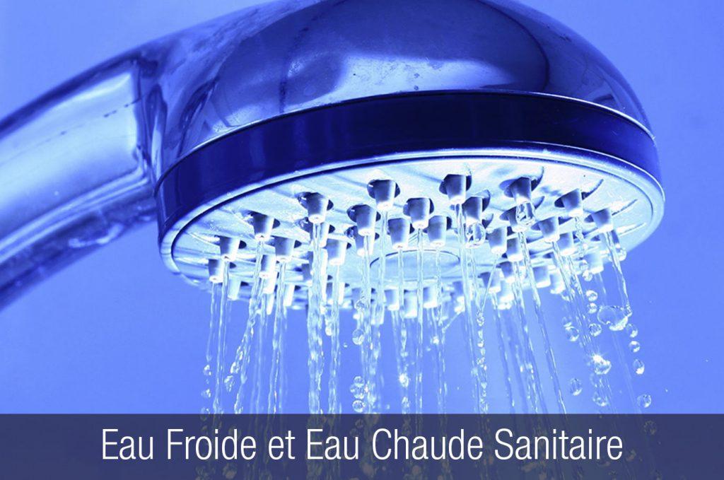 Eau froide et eau chaude sanitaire